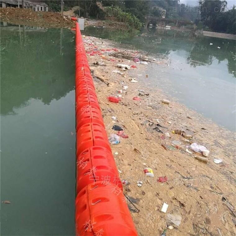 水面洪水期漂浮物拦截拦污浮筒