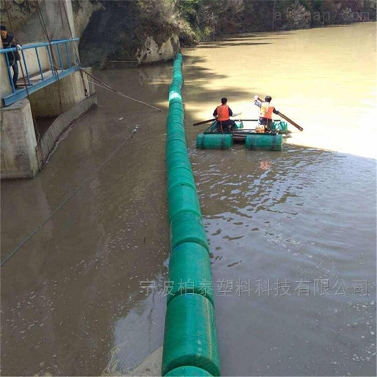 水电站拦漂网浮筒