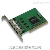 moxa工業級4口RS-232 通用 PCI 聰明型多串口卡