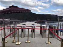 游艇码头检票通道闸,度假村三辊闸检票系统