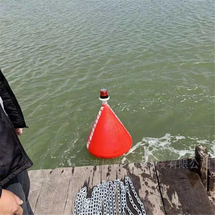 十堰河道施工警示浮标 水上禁航浮标