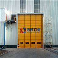 徐州冬季抗風堆積式快速門