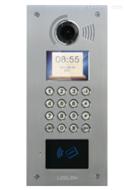 10型机械按键彩色可视联网刷卡主机