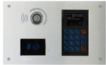 11型触摸按键彩色可视联网刷卡主机