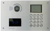 11型机械按键彩色可视联网刷拉主机