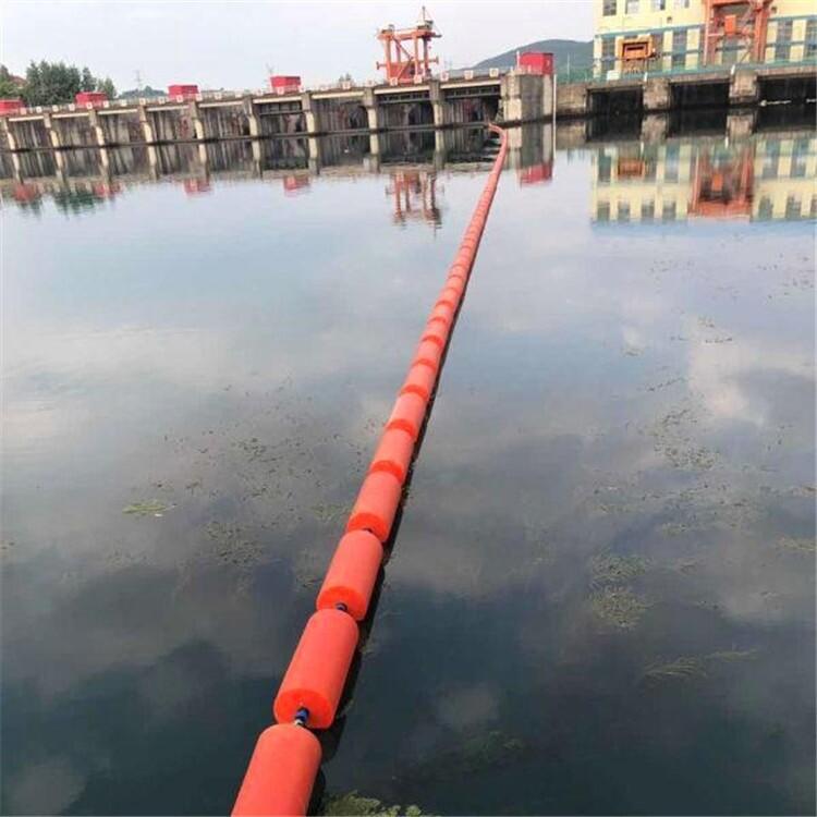 水库,湖泊禁航拦船浮筒