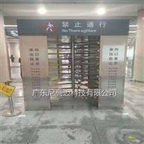 高铁站单向梳形门,全封闭式通道单项转闸