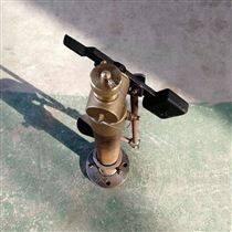 带脚踏板的测深自闭阀