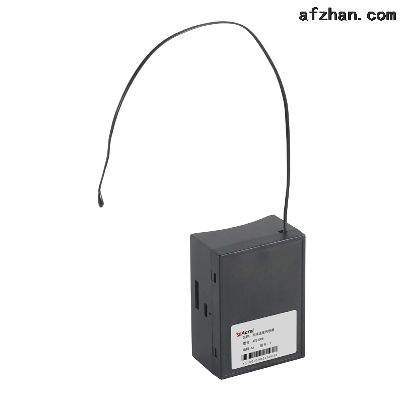 扎带式无线测温传感器 电池取电