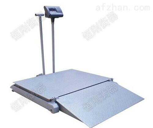 带斜坡200kg带打印病人自动称重秤