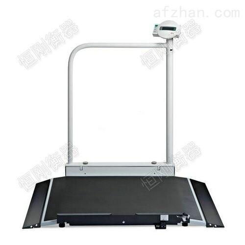 带USB接口500KG带打印轮椅平台秤