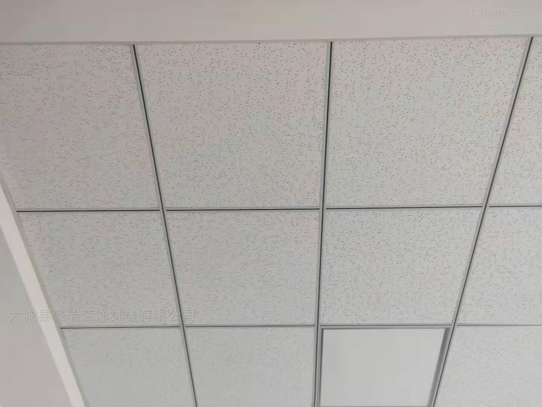矿棉板玻纤板最大的优点是吸音效果好