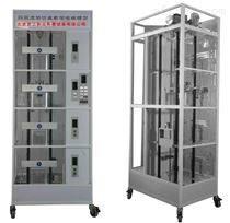 三菱四层透明仿真教学电梯模型