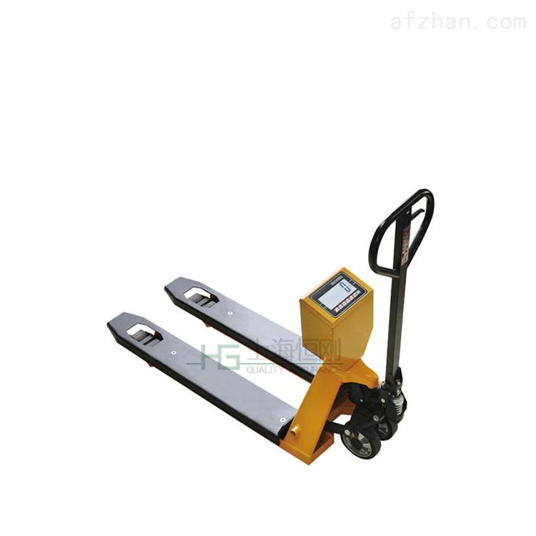 高精度液压升降碳钢叉车秤