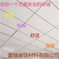 600豪瑞岩棉玻纤板使用于大跨度建筑物