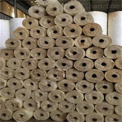 热力管道保温岩棉管价格