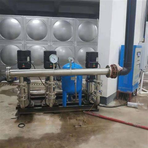 安庆绿色变频供水工作原理