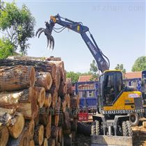 挖掘机抓木机多功能适用领域
