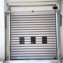 厂房L型转弯硬质快速门安装
