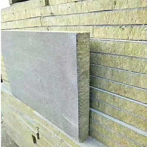 岩棉复合板现货充足价格便宜