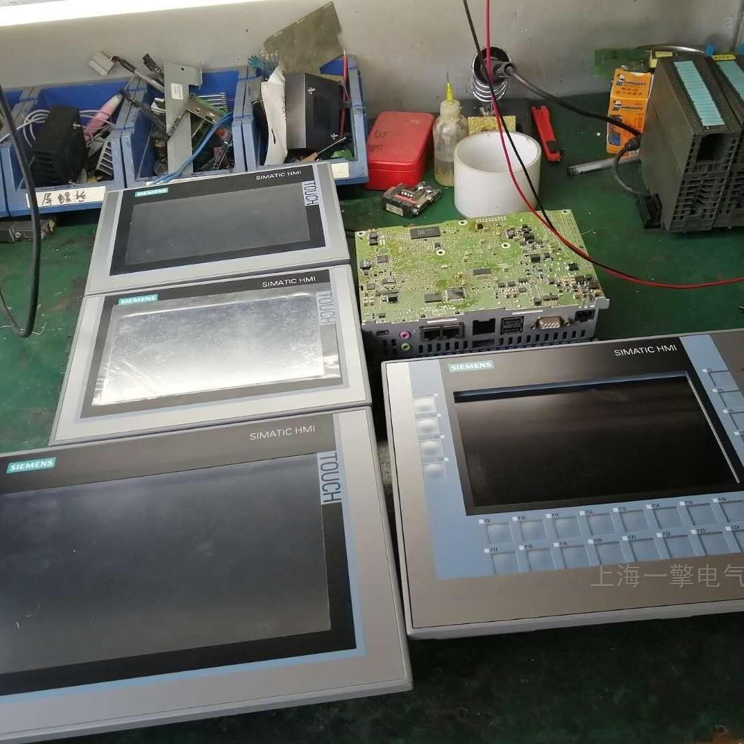 西门子触摸屏KTP700显示黑屏,死机维修