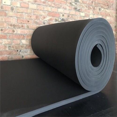 固原铝箔贴面防火橡塑保温板橡塑管