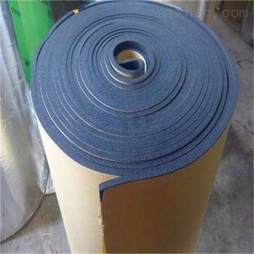 泰安阻燃单面不干胶橡塑板厂家动态