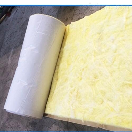 钢构屋顶保温隔热玻璃棉毡 w38贴面