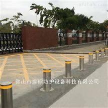 DB江苏步行街防车升降桩,导流区升降地柱
