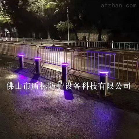 车牌识别阻车柱 自动液压伸缩路桩