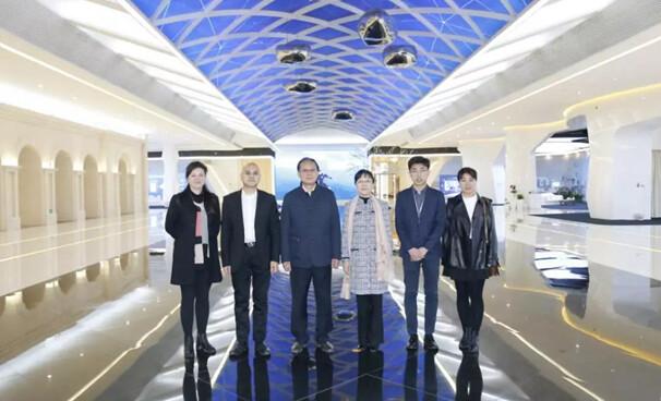 北京安全防范行业协会领导一行应邀参观走访华为展厅
