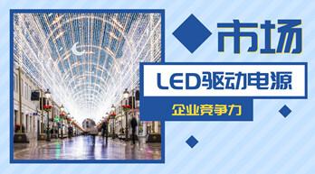 LED驱动电源企业对比:谁更具有竞争力?