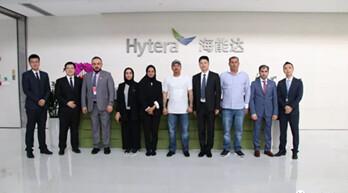 阿拉伯联合酋长国迪拜代表团到访海能达参观交流