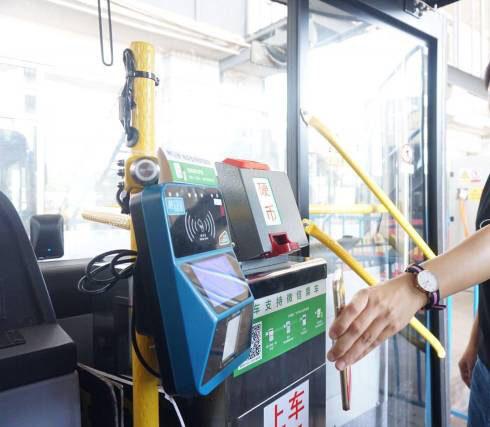 公交車載掃碼機