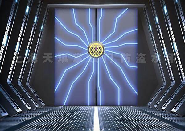 智能变色玻璃门