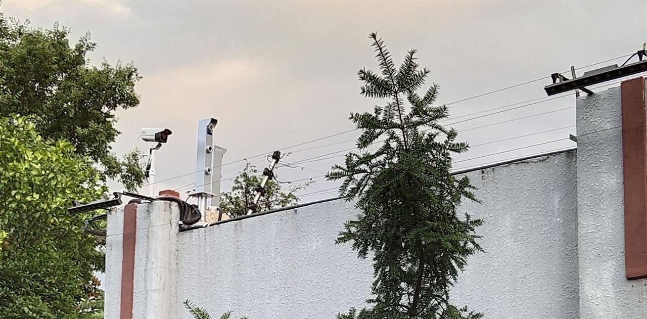 客欧安防-激光对射探测器案例-周界报警系列产品