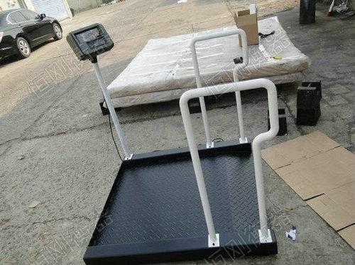 200kg带体重秤的轮椅